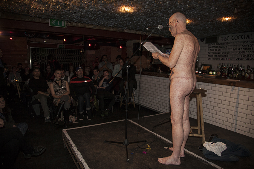 Naked Rambler; naked