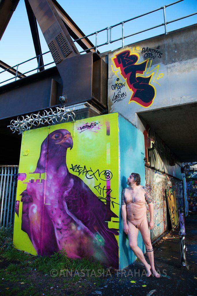 urban nude photography