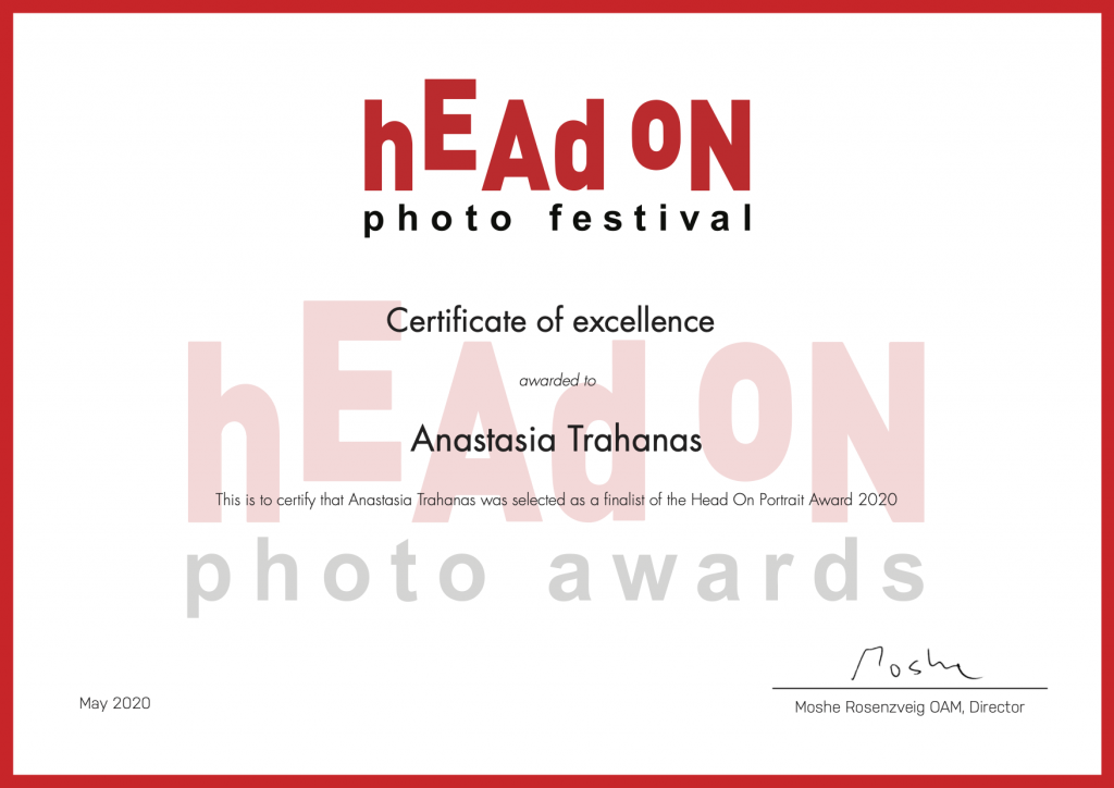 head on awards certificate